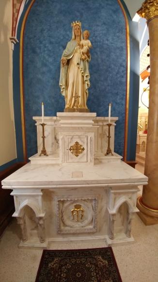 Blessed Mother Side Altar