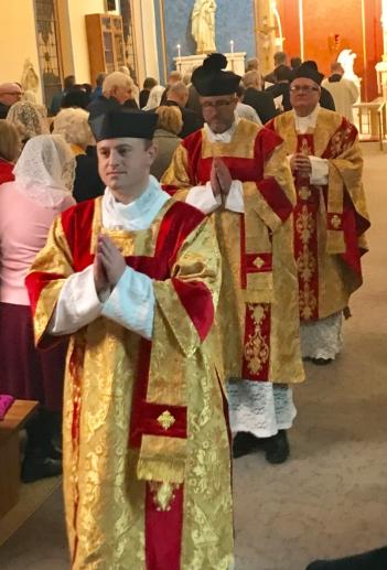 Fr. Zachary Akers, Fr. Michael Stinson, Fr. Michael Migiera